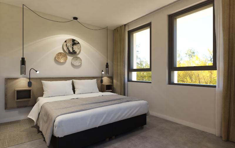 OT Design impressie interieur hotelkamer